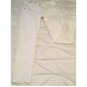 Madewell White Skinny Jeans Size 28